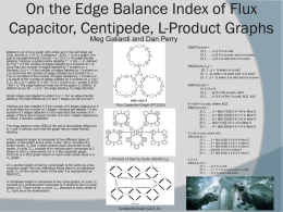 On the Edge Balance Index of Flux Capacitor and L