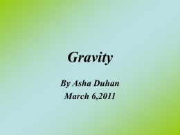 Science: Gravity
