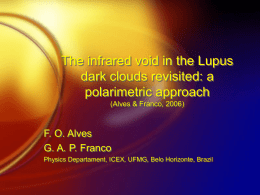 The infrared void in the Lupus dark clouds revisited: a
