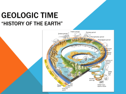 Intro Geologic Time