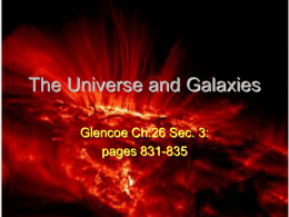 The Universe and Galaxies PPT