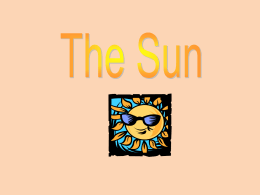 Our Sun - TheLearningCurve