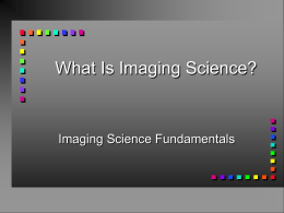 image - Carlson Center for Imaging Science