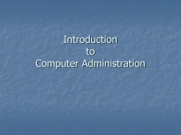 3 - Computer Network - Basic Concepts