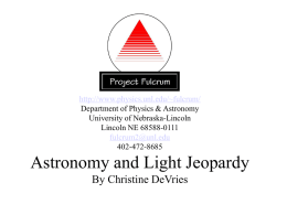 AstronomyLightJeopardy_v2 - Department of Physics and