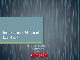 Emergency Medical Services PowerPoint