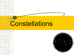 Constellations PPT - Plain Local Schools