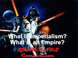 What is Imperialism? What is an Empire?