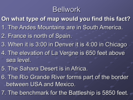 Types of Maps Review