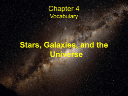 Chapter 4 Vocabulary