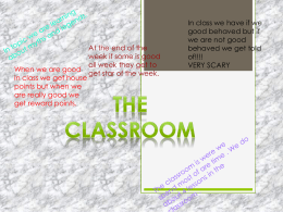 The Classroom - British Council Schools Online