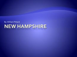 New Hampshire - williampittard