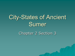 City-States of Ancient Sumer