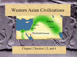Sumeria and the Fertile Crescent