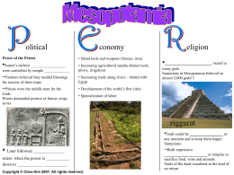 Ancient Mesopotamia Guided Notes Sheet