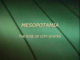 mesopotamia - Reagan Humanities