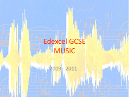 Edexcel GCSE MUSIC - Amazon Web Services