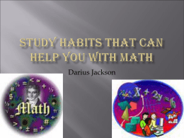 Study habits that can help you with science