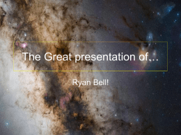 The Great presentation of…