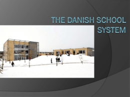 The Danish school system