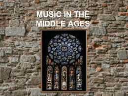 Middle Ages in Music