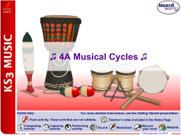 Boardworks Musical Cycles W8