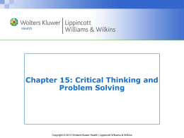 Chapter 15 PPT