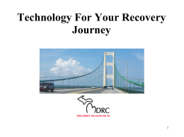 Technology For Your Recovery Journey