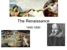 The Renaissance - Coach Hardin`s World