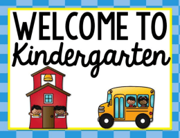KK-05 Welcome to Kindergarten Powerpoint