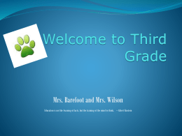 Open House PowerPoint Presentation 2016-17