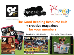 Learn more about our magazines for schools