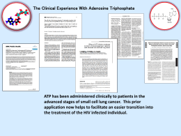 ATP 1: Brochure Clinical Experience DOWNLOAD