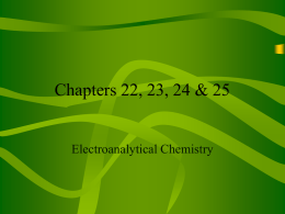 Chapters 22, 23, 24 & 25