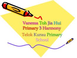 Student Work 9 - Telok Kurau Primary School