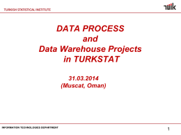 DATA PROCESS - OIC Statistical Commission
