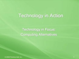 Computing Alternatives