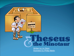 Theseus and the Minotaur (ppt format)