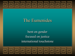 The Eumenides - Personal Web Pages