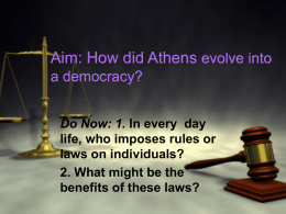 Athenian Democracy