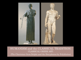 14 Classical Sculpture Charioteer and the Doryphorosx