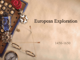 European Exploration - Liberty Hill High School