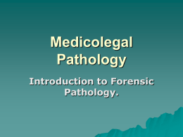 forensic pathology research papers