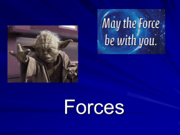 notes on Intro to Force - Link 308