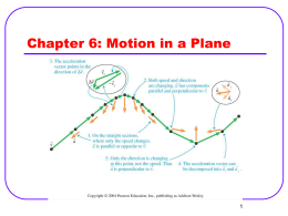 Chapter I: Concepts of Motion - Physics | Oklahoma State