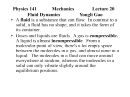 Physics 141 Mechanics Yongli Gao Lecture 4 Motion in 3-D