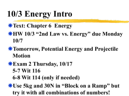 Physics 130 - University of North Dakota