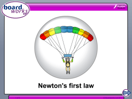 Newton`s first law