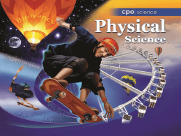 Section 3.1 - CPO Science