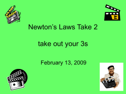24 newtons laws of motion 2 - lindsey